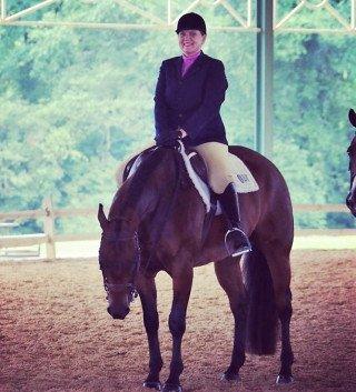 Foto van Paardenmeisje